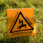 Survey Warning Sign